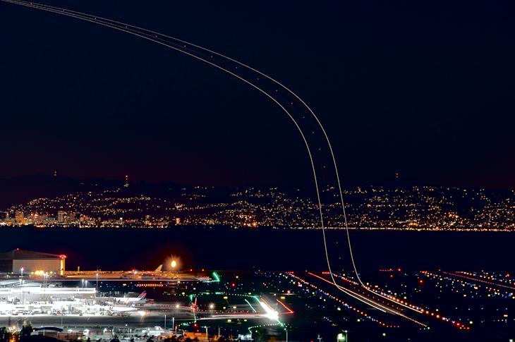 SFO Takeoff